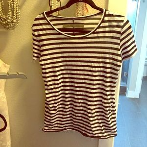 Enza costa stripe top